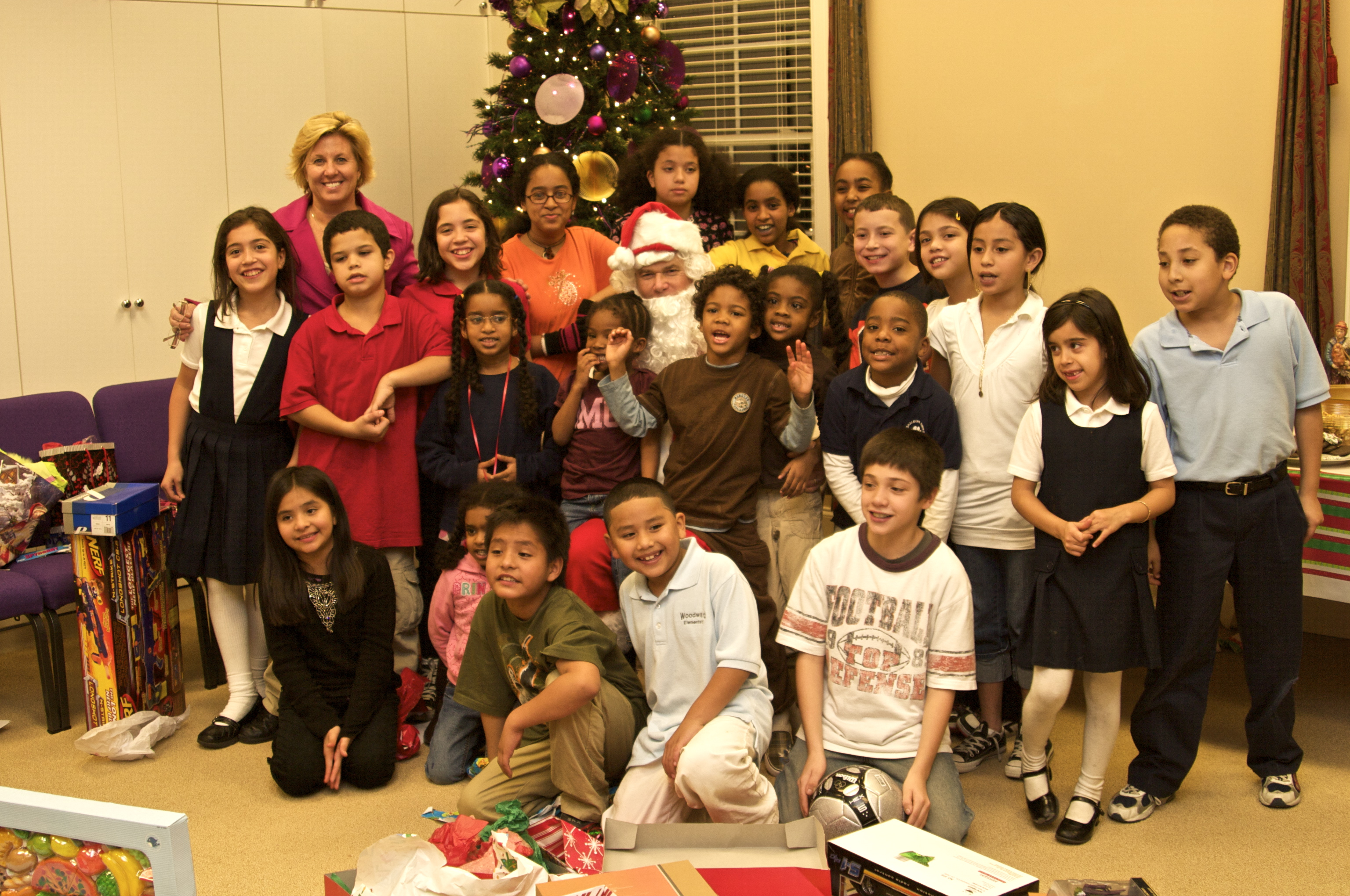 Dr. Debra Gray King and Dr. Charles C. Cooper with the Boys and Girls Club of Atlanta